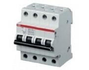 ABB автоматический выключатель 4 полюсный SH204 10А 4,5кА