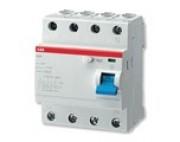 УЗО ABB FH204 4р 25А 100мА блок утечки тока