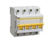 Автоматический выключатель IEK 4п 80А ВА 47-100