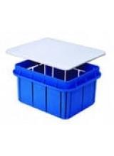 Распаячная коробка для скрытой проводки 154х98х70