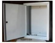 щит металлический (ящик металлический) ЩМП -03   350х300х155