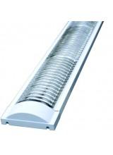Светильник  TL3017 2*36 вт с решеткой