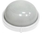 Светильник накладной (баня, сауна) круглый белый 100вт