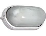 Светильник накладной (баня, сауна) овал белый 100вт