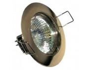 Светильник потолочный  MR16 G5.3 50W античное золото, DL307