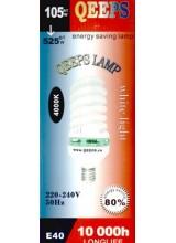 лампа энергосберегающая спираль 80вт 6400 Е-40(103*270)