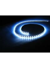 светодиодная лента влагозащищенная в силиконе 5050 IP 65 холодный белый 7,2 вт 30 диодов на метр 360lm