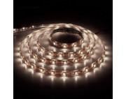 светодиодная лента влагозащищенная в силиконе 3528 IP 65 теплый белый 4,8 вт 60 диодов на метр 210lm