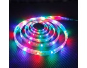 светодиодная лента влагозащищенная в силиконе 5050 IP 65 RGB 7,2 вт 30 диодов на метр 360lm