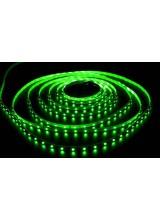 светодиодная лента влагозащищенная в силиконе 3528 IP 65 зеленая 4,8 вт 60 диодов на метр 210lm