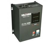 Стабилизатор релейный навесной VOLTRON PCH-1500Вт ( вольтрон )   черный