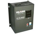Стабилизатор релейный навесной VOLTRON PCH-3000Вт ( вольтрон )  черный