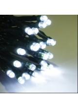 Гирлянда занавес 2*1,5 , 20 нитей по 1,5 метра черный провод,белый