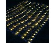 Светодиодная гирлянда сеть 2*4м,желтый