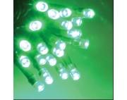 Гирлянда нить 2*3 м ,20 нитей по 3 метра , черный провод , зеленый