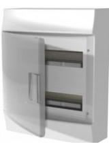 Влагозащищенный настенный бокс ABB Mistral65 24М непрозрачная дверь