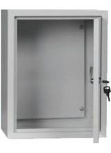 щит металлический герметичный ЩМП04 с окном IP44 400Х300Х155